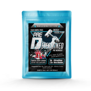 Nailed Nutrition Pre Workout